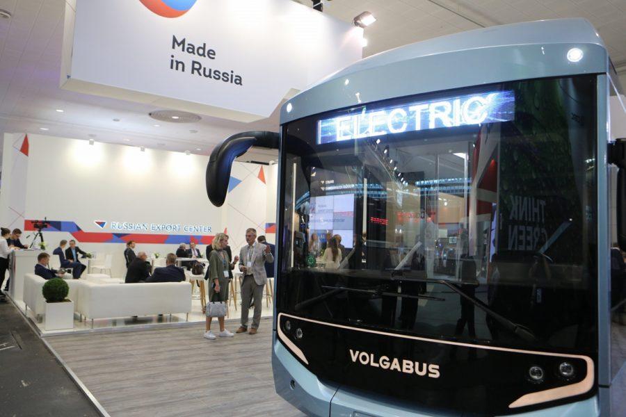 volgabus electric bus russian